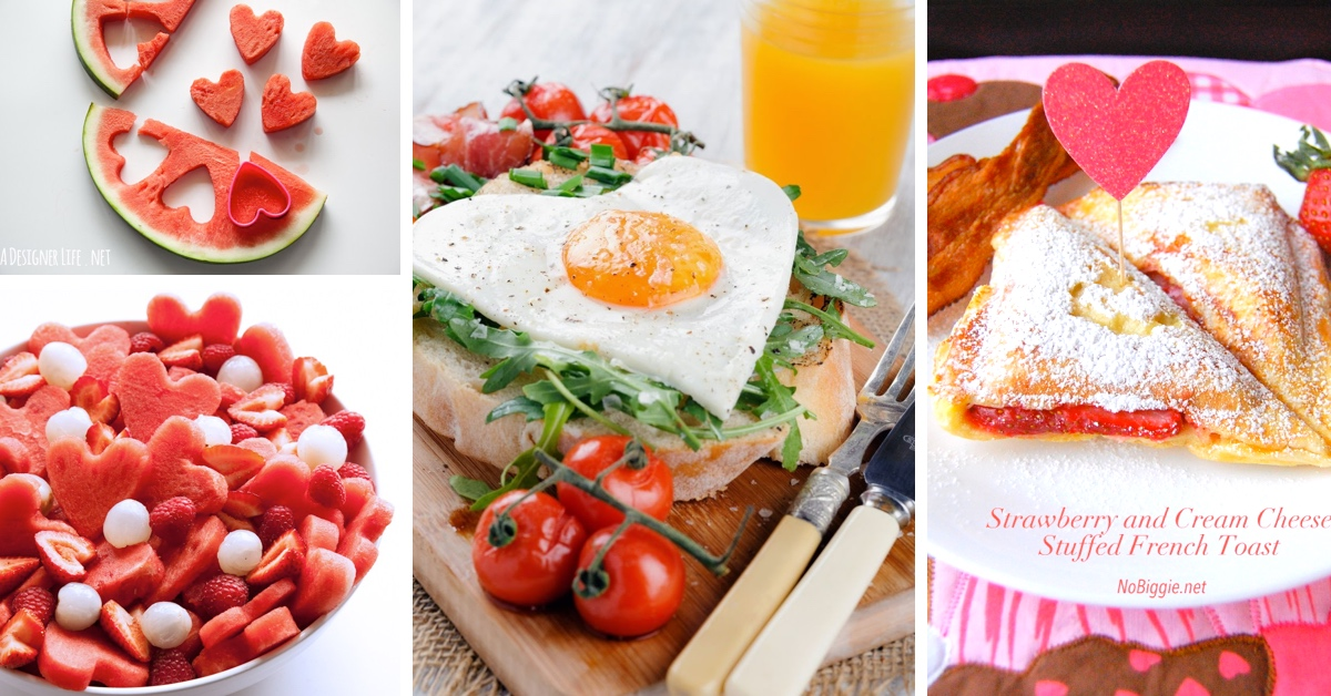 24 incredible valentine's day breakfast ideas introducing some, Ideas