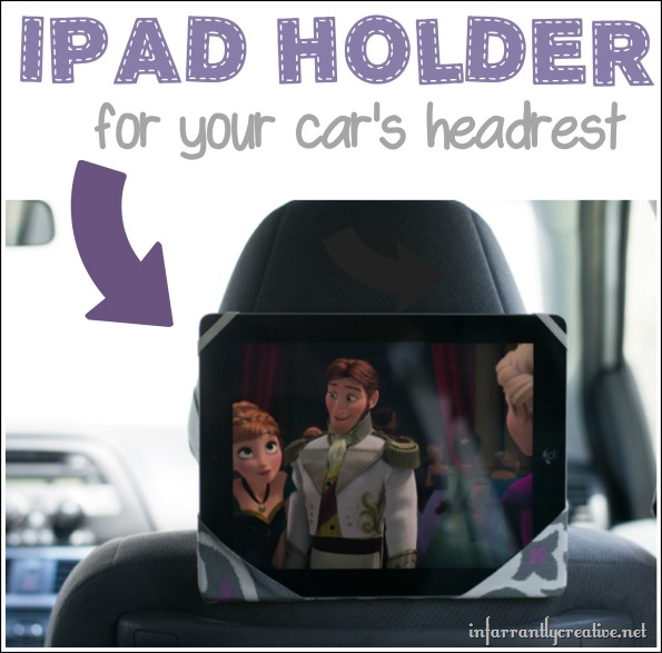 Ipad Holder for Your Car's Headrest
