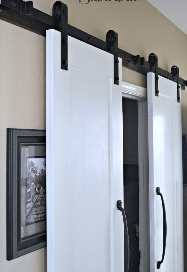 Maximize a Small Space with Barn Doors