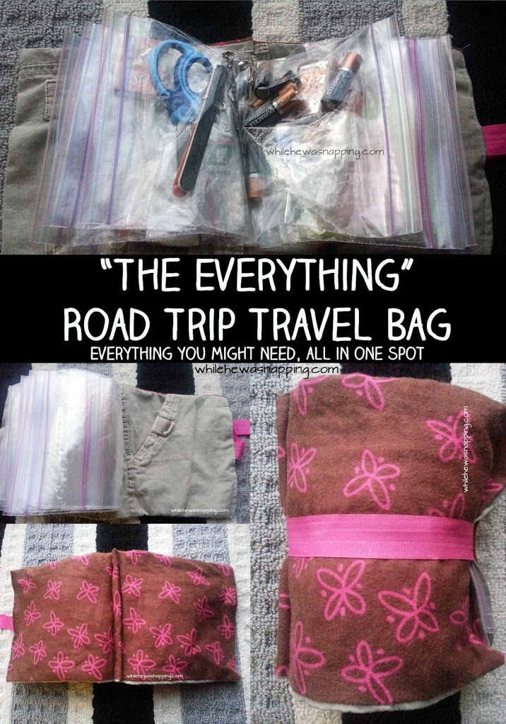 The Everything Pouch Road Trip Bag