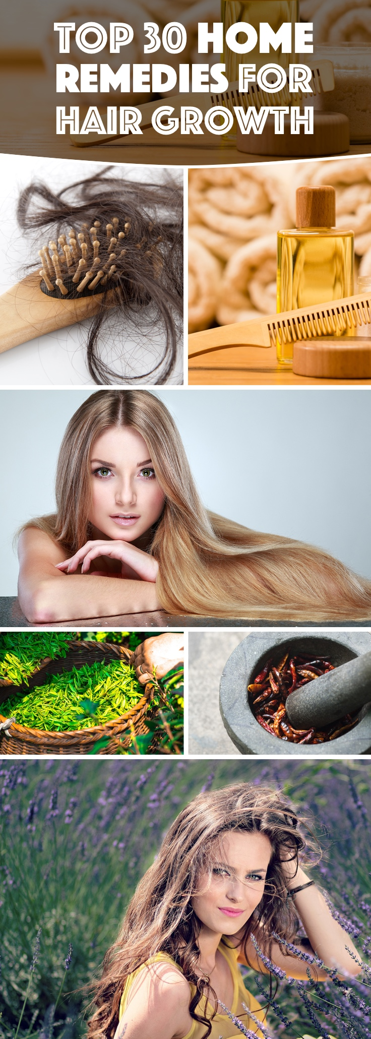 Top 30 Home Remedies For Hair Growth