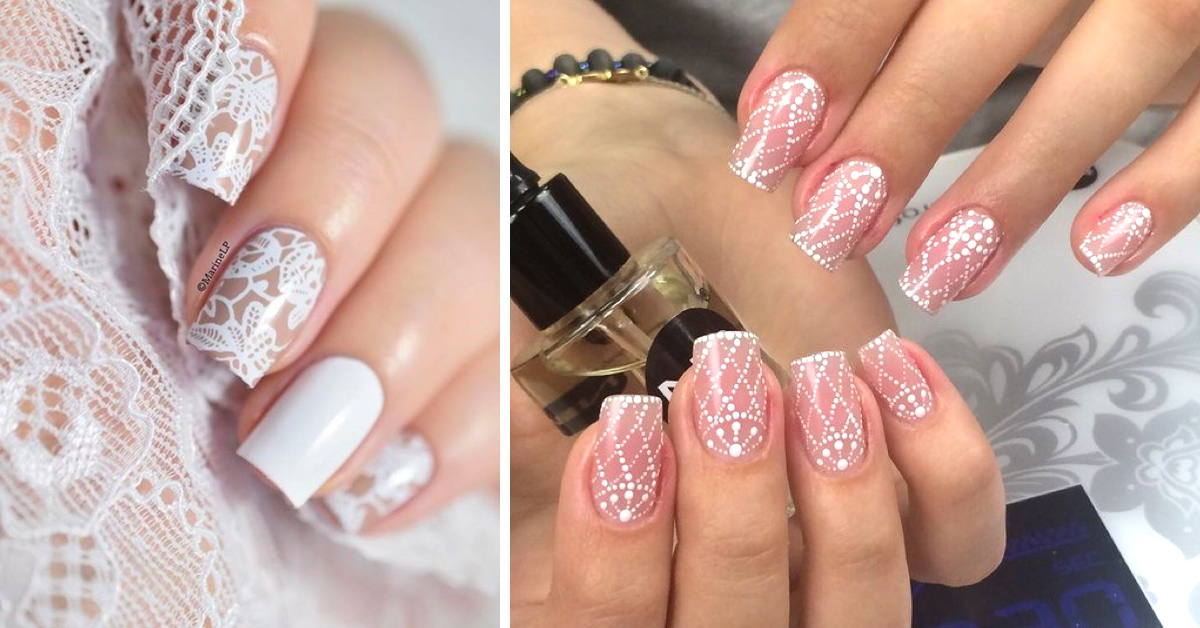 25 Wedding Nail Ideas That Are All You Need To Charm Your Tips For ...