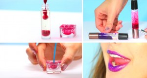 DIY Lava Lamp Lip Gloss