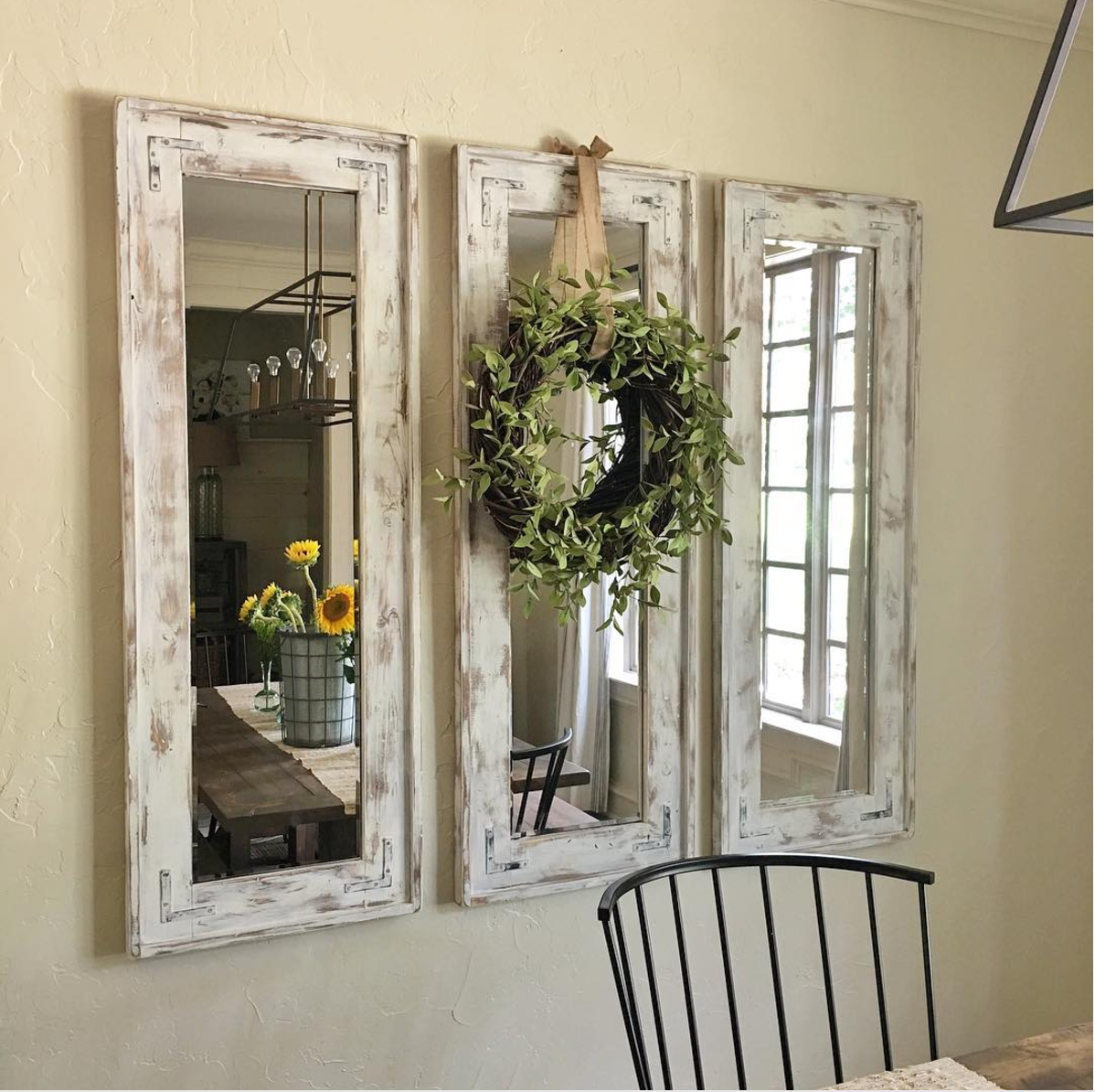 Mirrors Can Be All Rustic