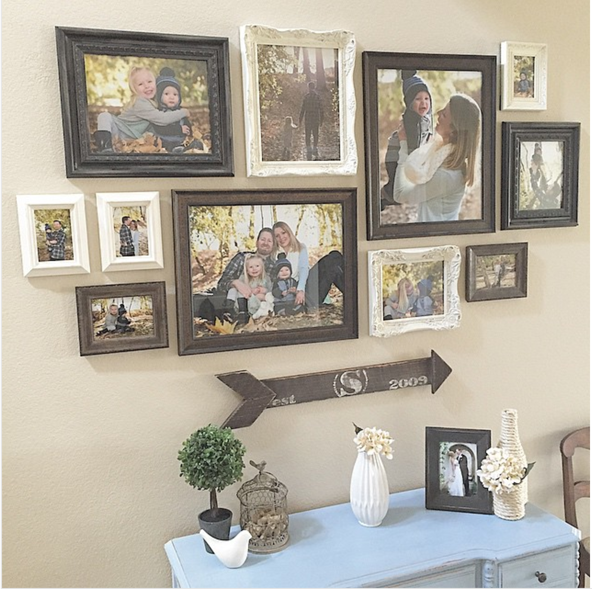 25 must try rustic wall decor ideas featuring the most amazing intended imperfections cute diy Home decoration photo frames