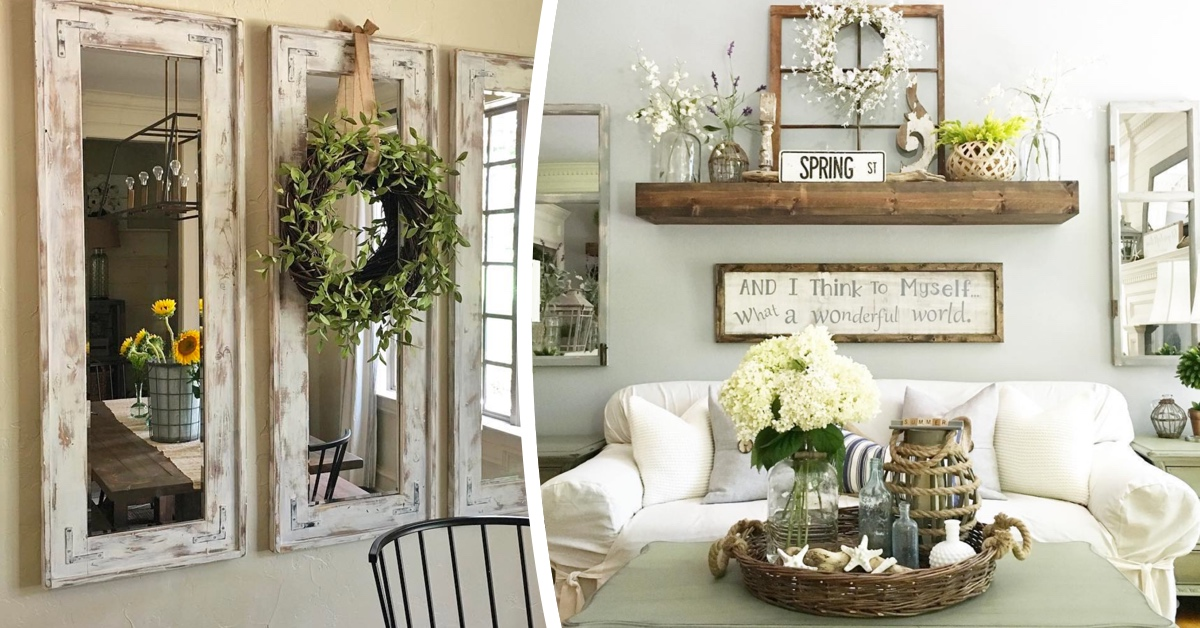 Simple house garden ideas - 25 Must Try Rustic Wall Decor Ideas Featuring The Most