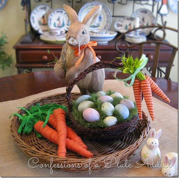 Simple Centerpieces for Easter