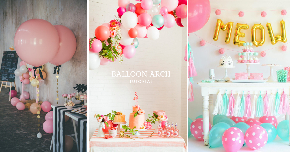 25 Birthday Party Decoration Ideas You Need For A Truly Memorable ...