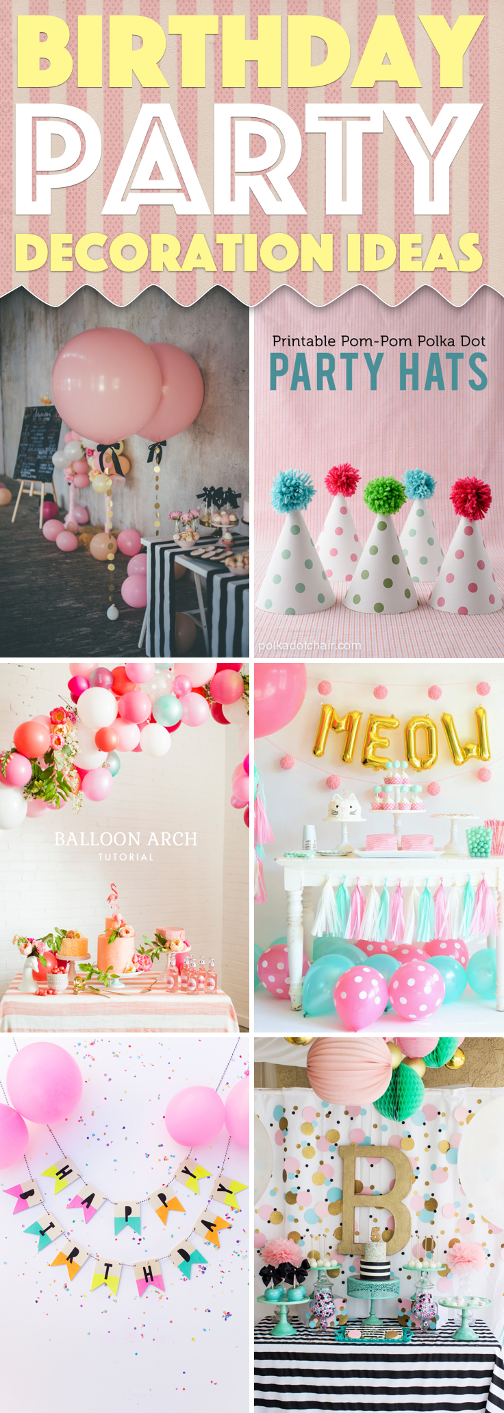 25 Birthday Party Decoration Ideas