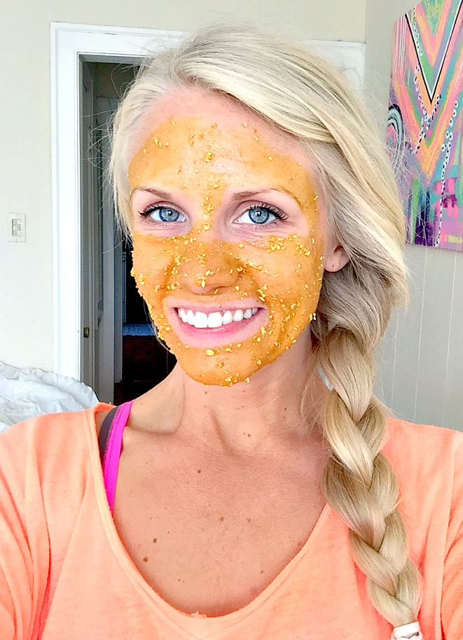 Brightening Turmeric and Lemon Face Mask
