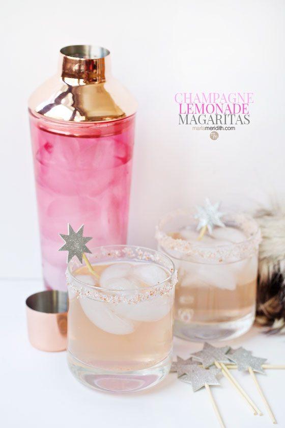 Champagne Lemonade Margaritas
