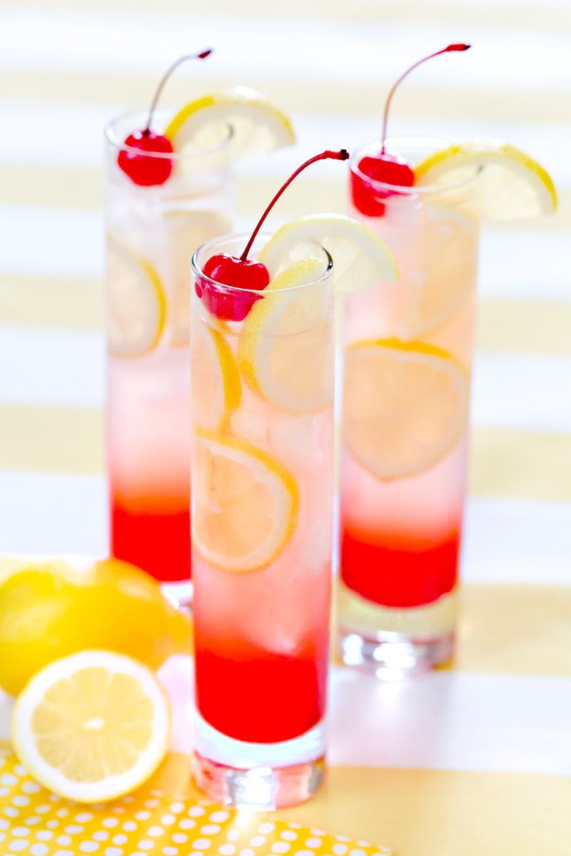 Summer Mixed Drinks Lemonade