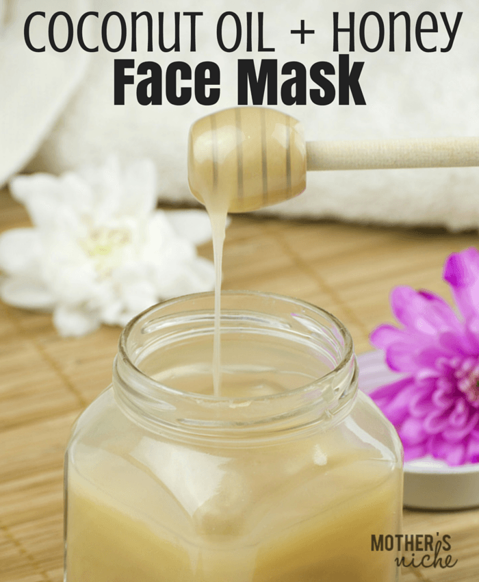 Coconut Oil and Honey DIY Face Mask