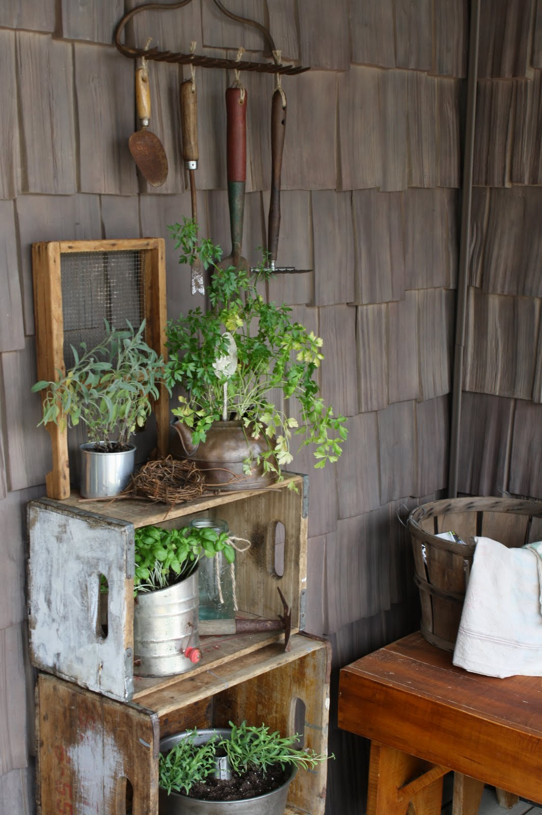 Country Porch Gardening Cute Diy Projects