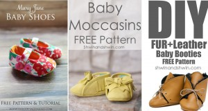 DIY Baby Shoes Ideas With Free Patterns and Instructions