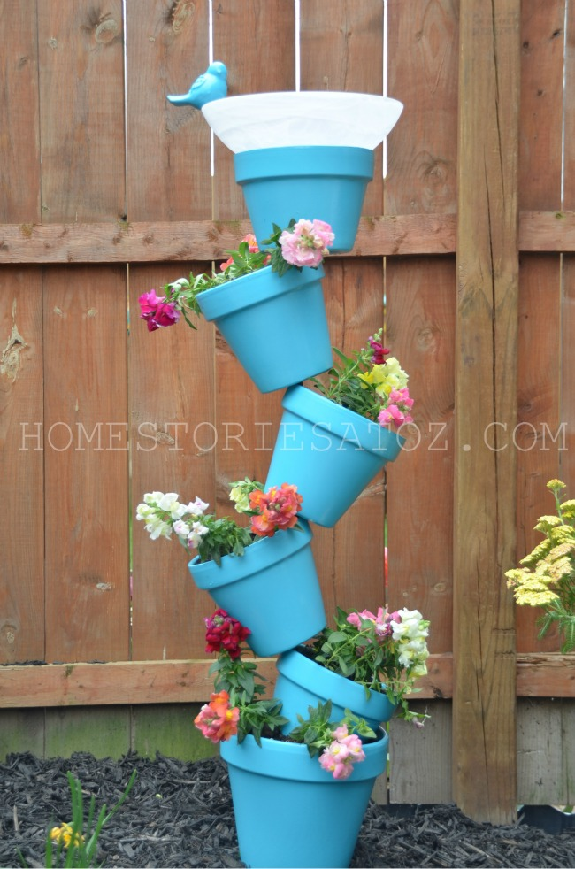20 Amazing Diy Outdoor Planter Ideas To, How To Make Outdoor Flower Pots
