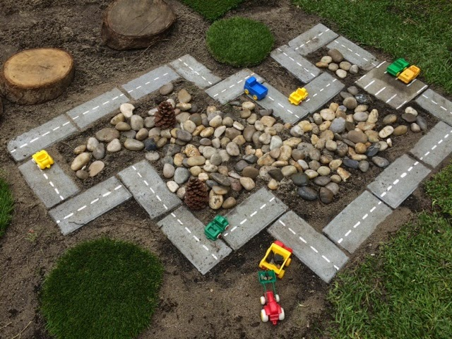 ideas for outdoor play area