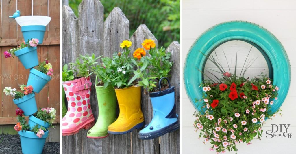 DIY Outdoor Planter Ideas
