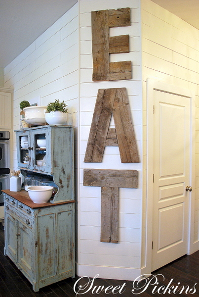 EAT Letters For Home Decor