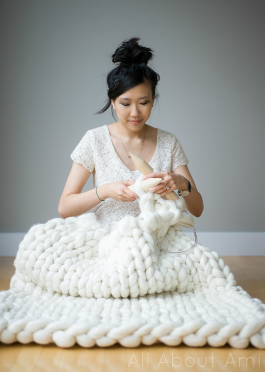 Extreme Knitted Blanket