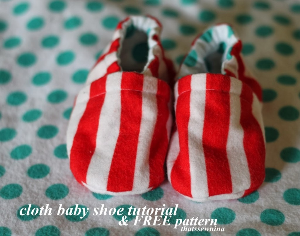Fabric Cloth Baby Shoes