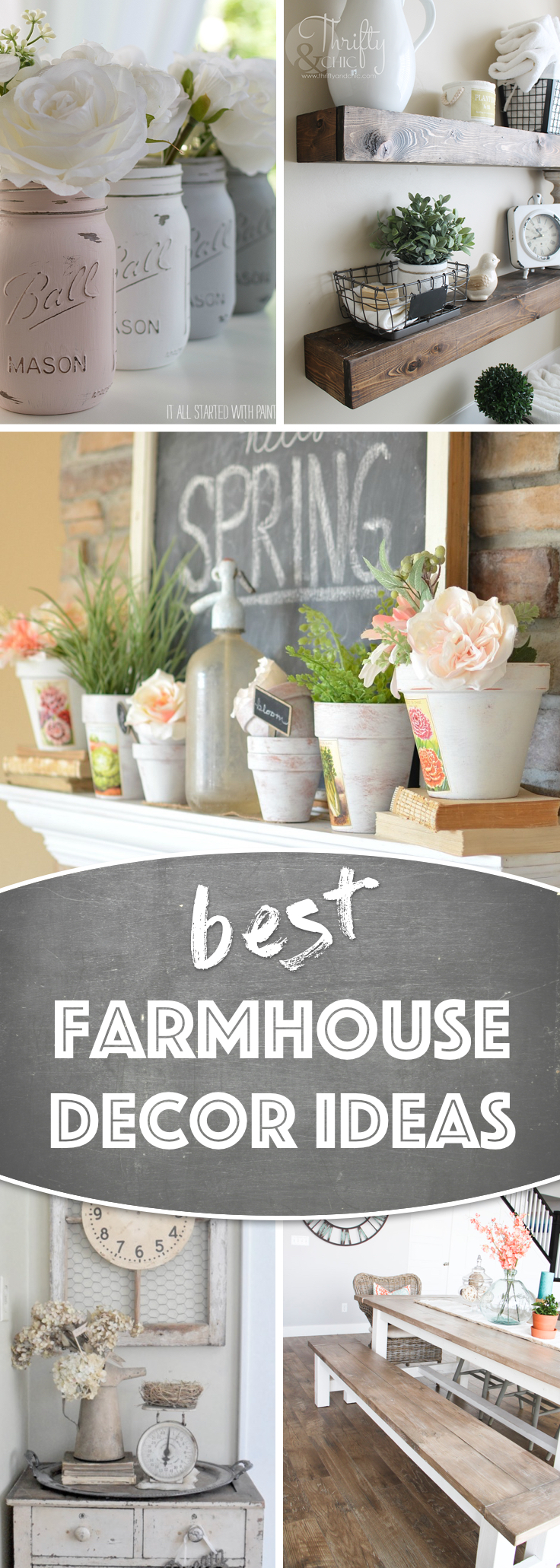 19 Awe Inspiring Farmhouse Decor Ideas to Transform Your Home Exceptionally