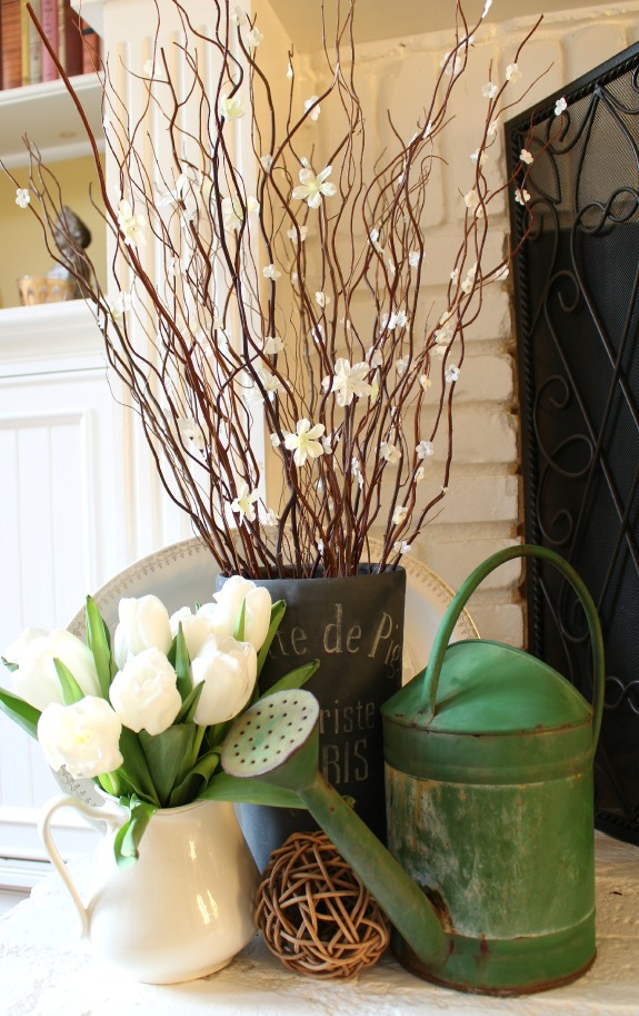 Faux Flowering Branches