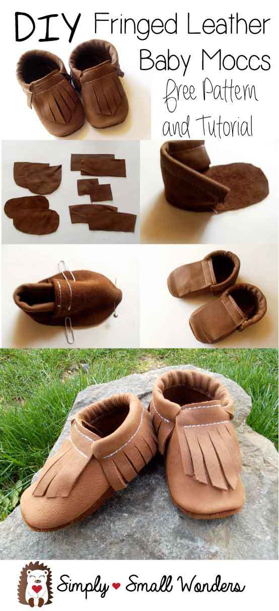 da23dd1324198 20 DIY Baby Shoes Ideas With Free Patterns and Instructions