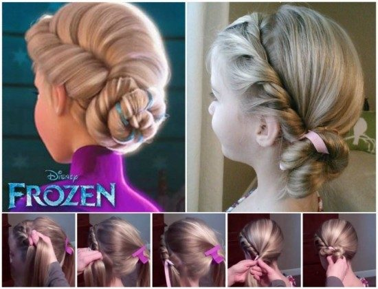 Frozen Hairstyle Step By Step