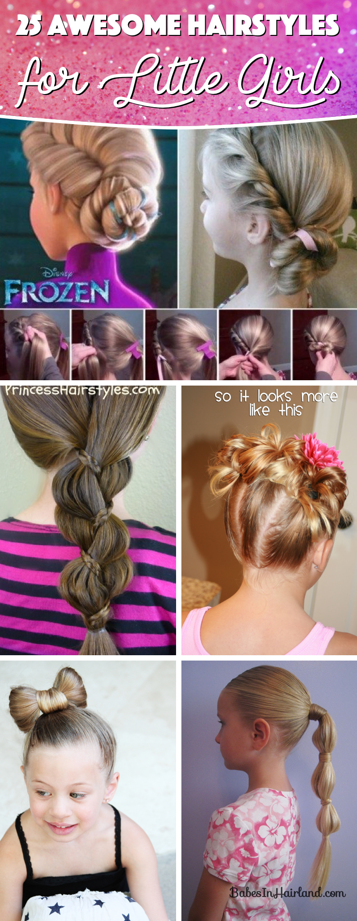 25 Awesome Hairstyles For Little Girls Making Them Look Absolutely