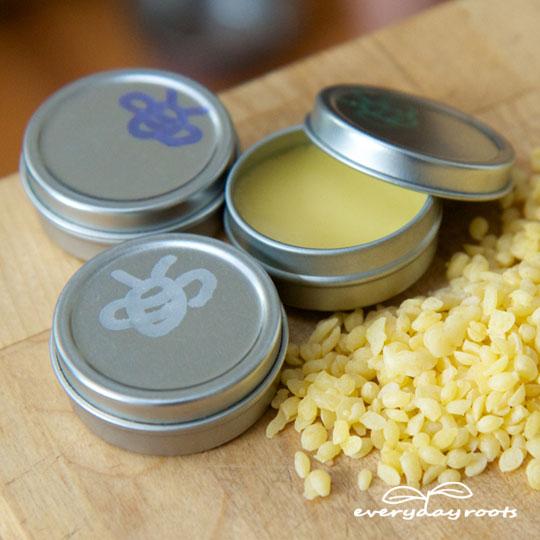 Healing Homemade Lip Balm