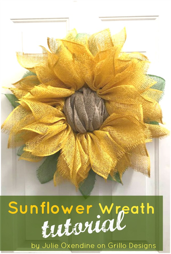 Julies Sunflower Wreath