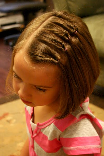 Knotted Side Part