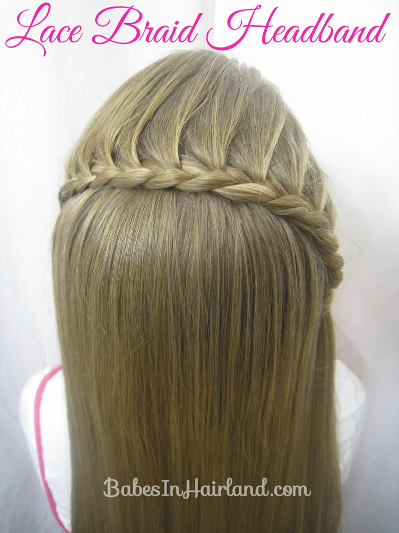 Lace Braid Headband