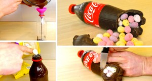 Make This Chocolate Coca Cola Easter Egg Surprise