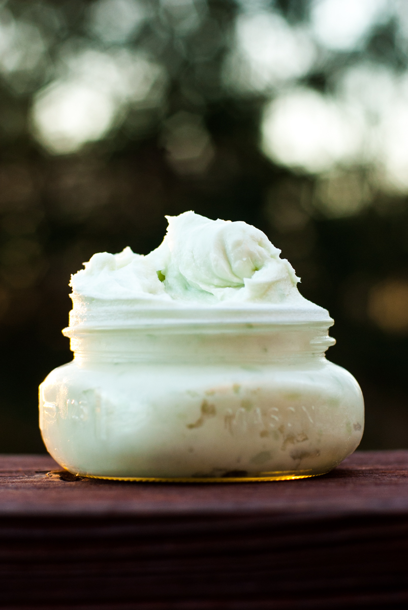Mint Green Whipped Body Butter