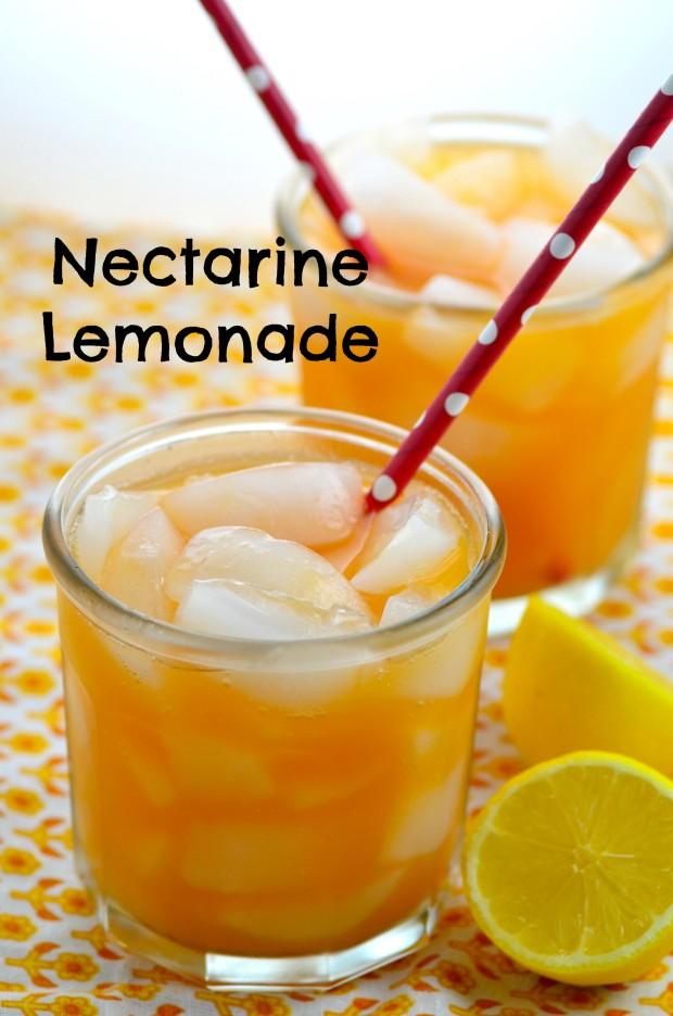Nectarine Lemonade