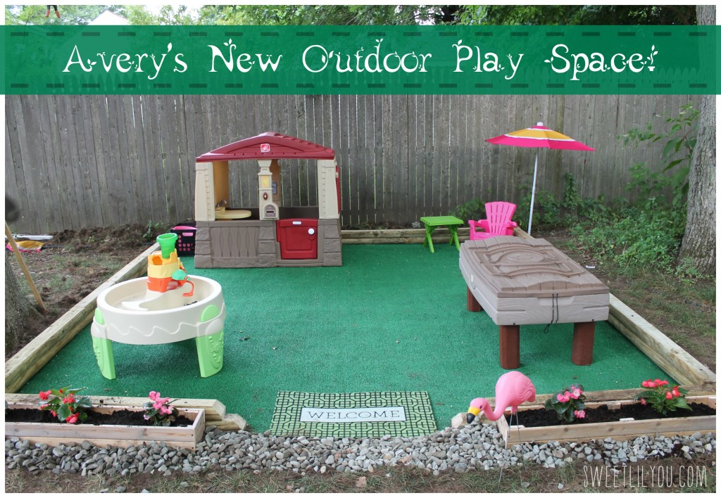 ideas for children's outdoor play area