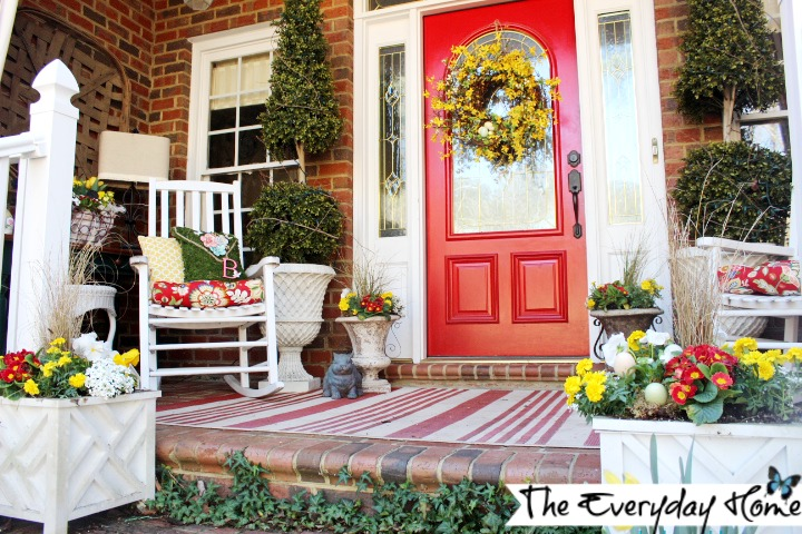 25 Spring Porch Decoration Ideas That Are Much More Than Just