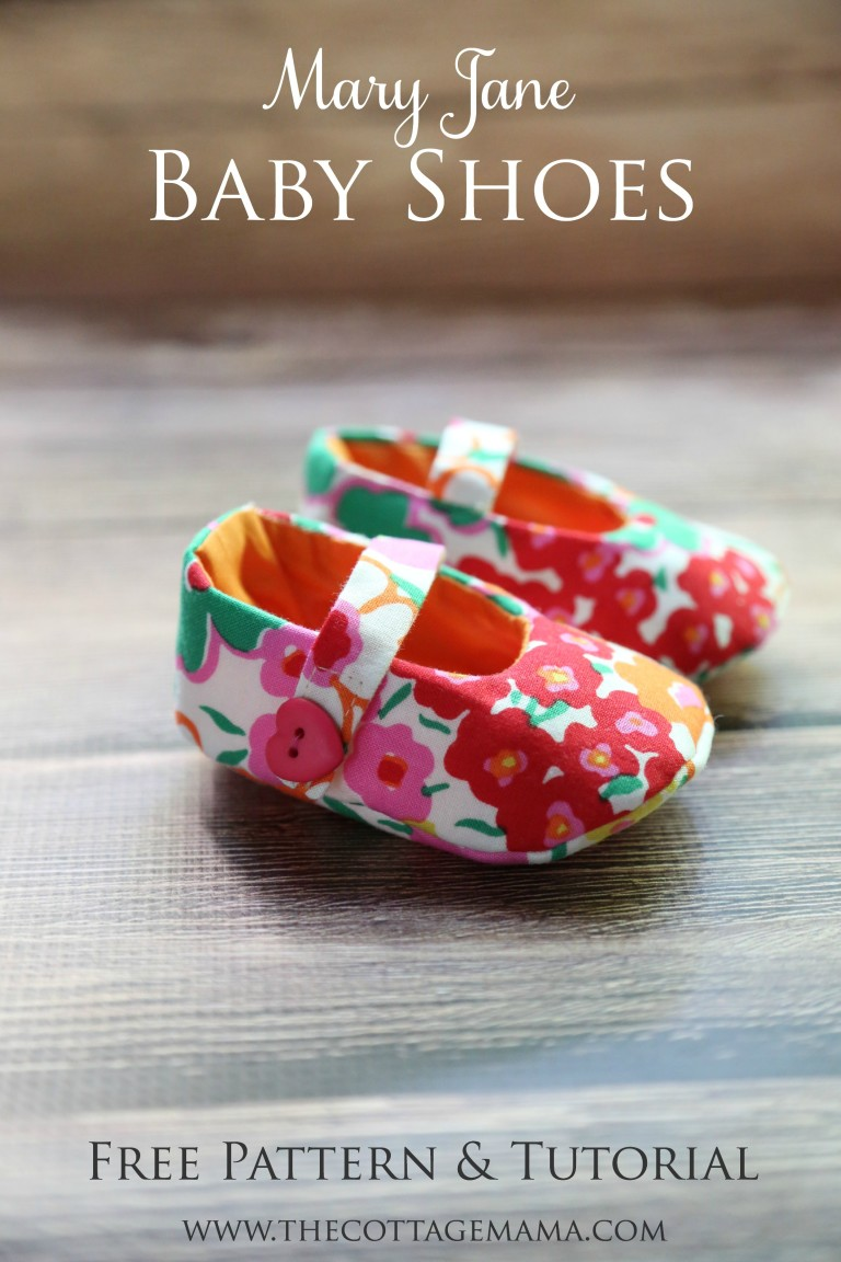 Pretty Mary Jane Baby Shoes