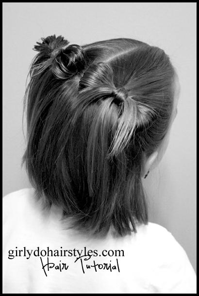 Short Hair Pig Tails