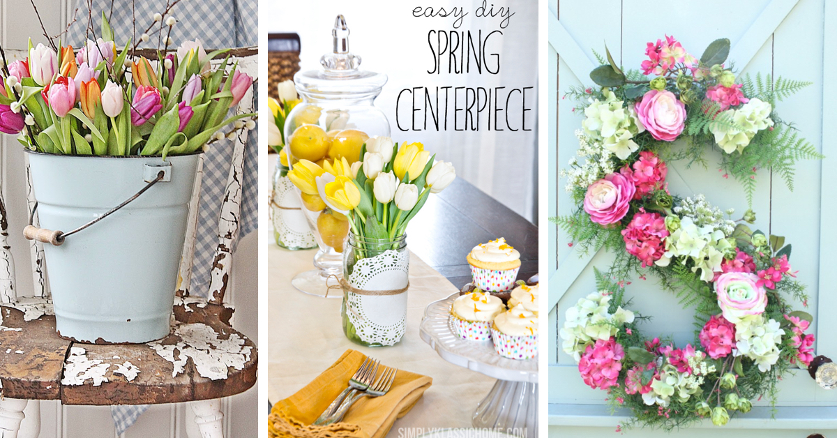 best 35 spring decorating ideas to inspire your home - Spring Decorating Ideas