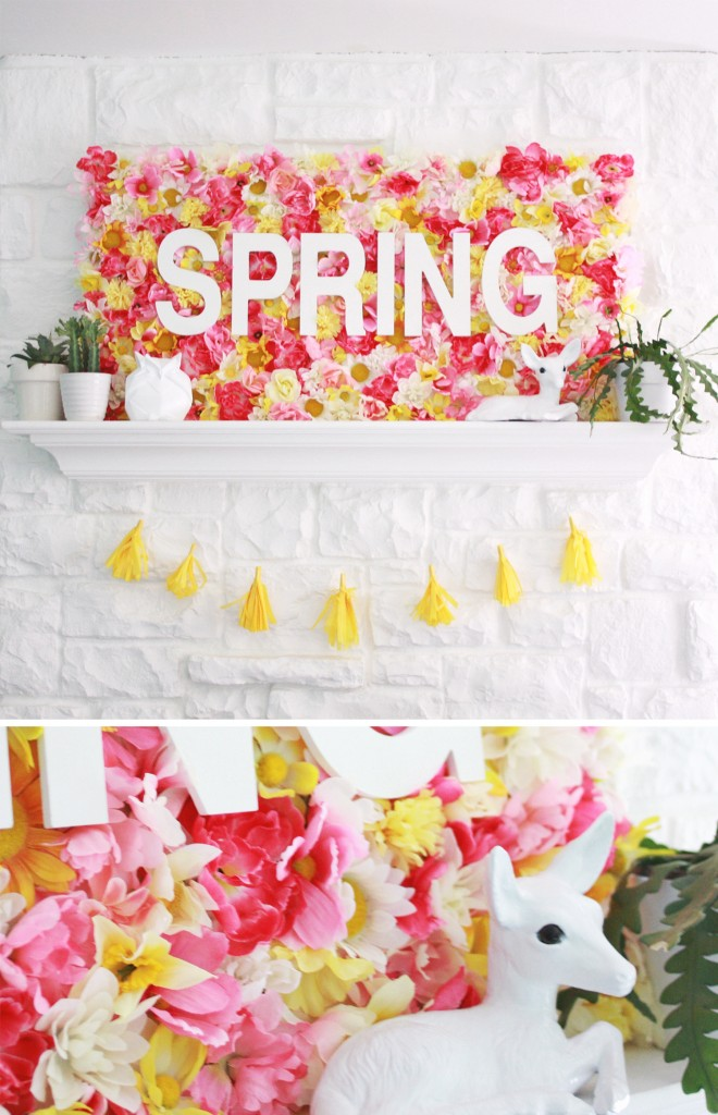 Spring Wallflower Sign