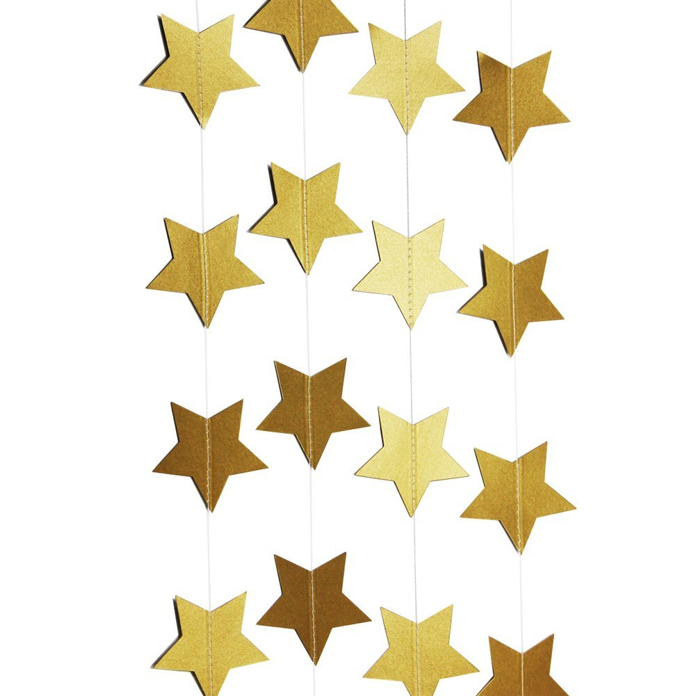 Star String Paper Garland