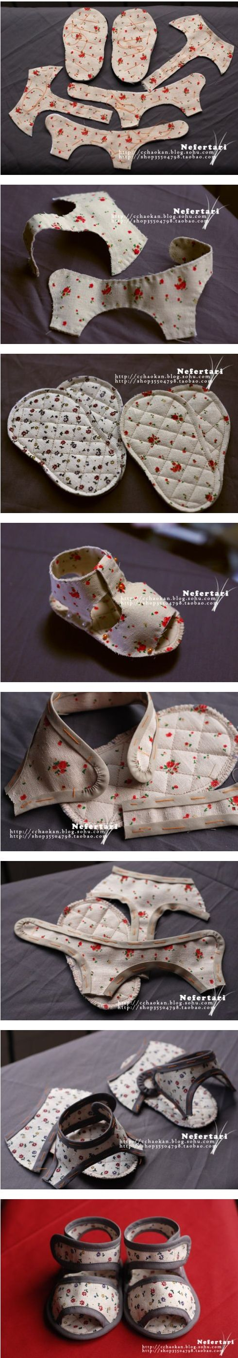 Stunning DIY Baby Shoes Ideas