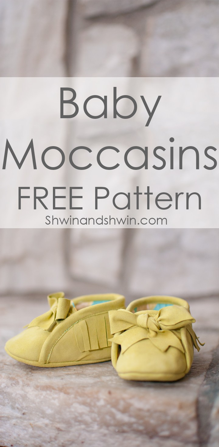 Stylish Baby Moccasins