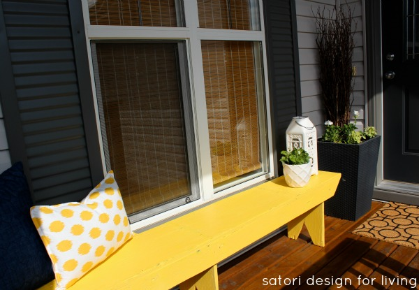 Sunshine Bench Makeover