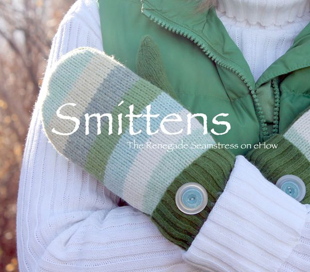 Sweater to Mittens