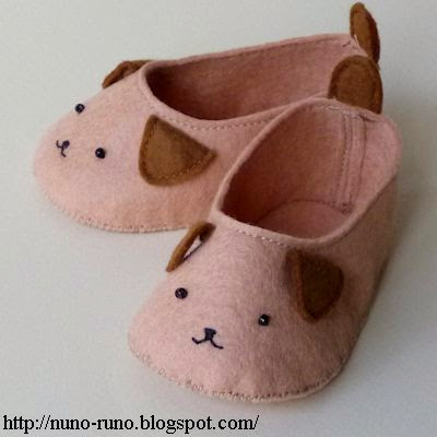 Teddy Face Baby Shoes