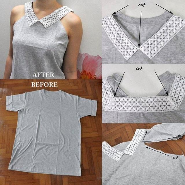 Felturbózott póló - 10 tipp a régi ruhák újrahasznosításához- 1. rész